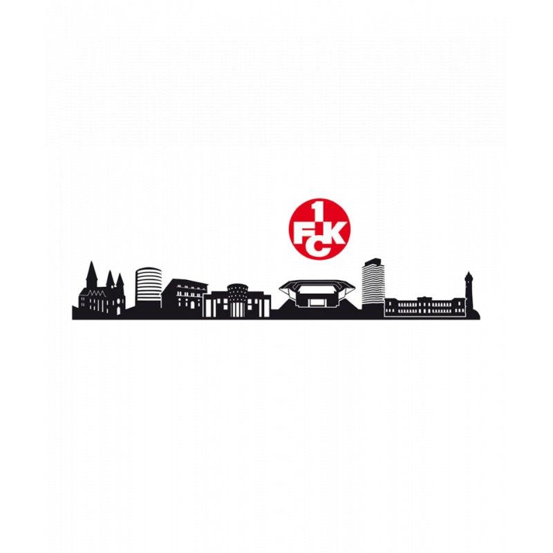 1 Fc Kaiserslautern Wandtattoo Skyline Logo 1 Fck Rote Teufel