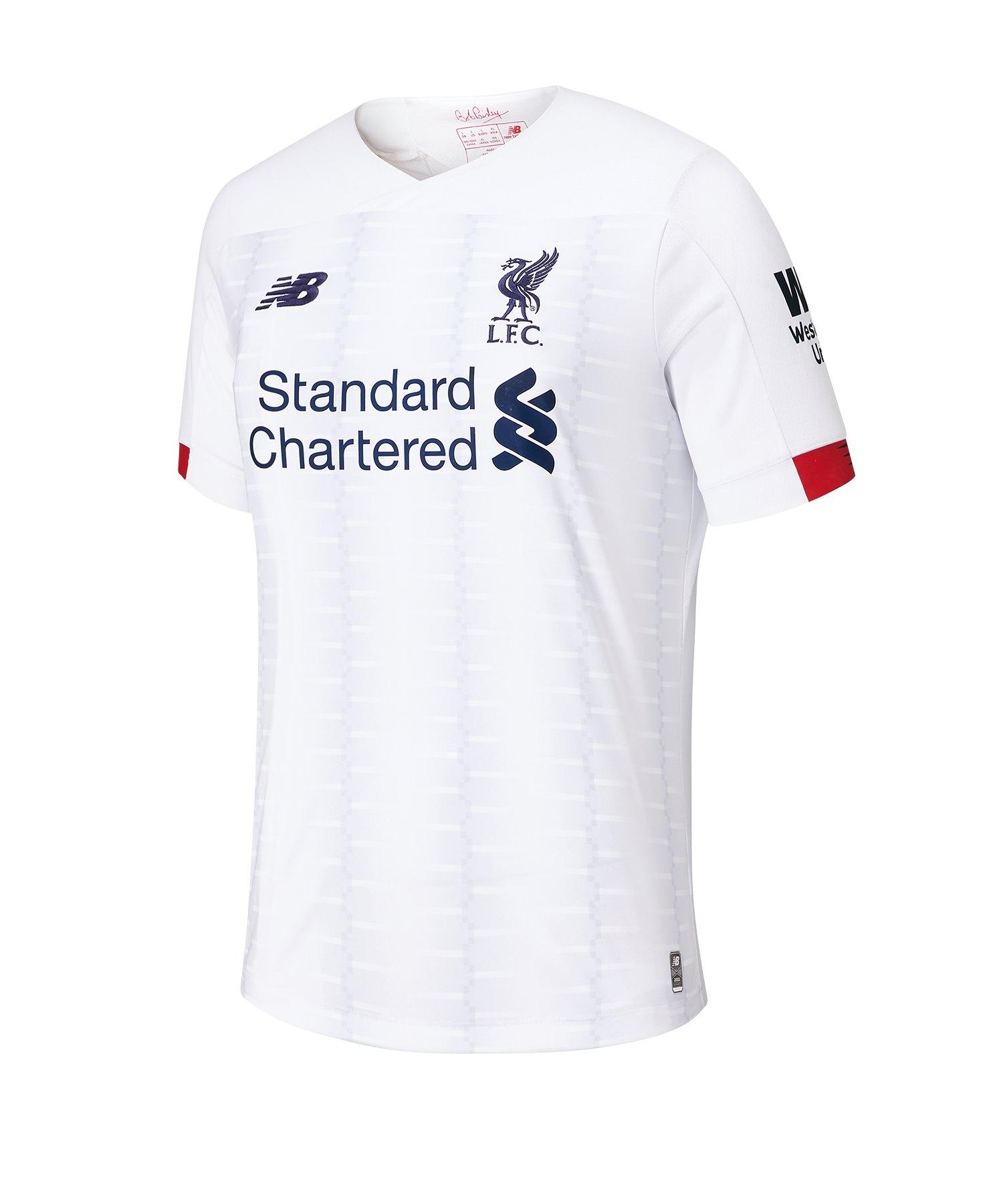 New Balance FC Liverpool Trikot Away 20192020 Weiss