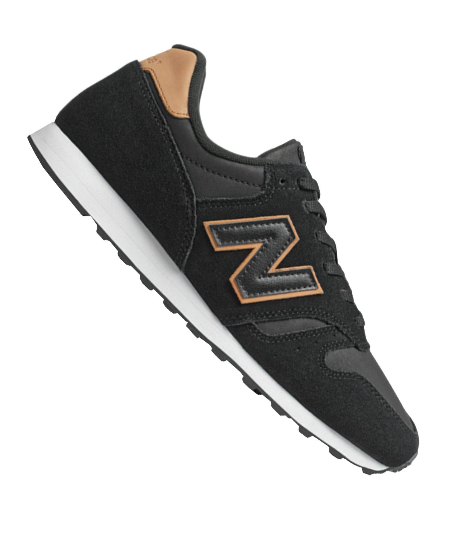 best cheap 23356 d133b New Balance ML373D Sneaker Leder Schwarz F8