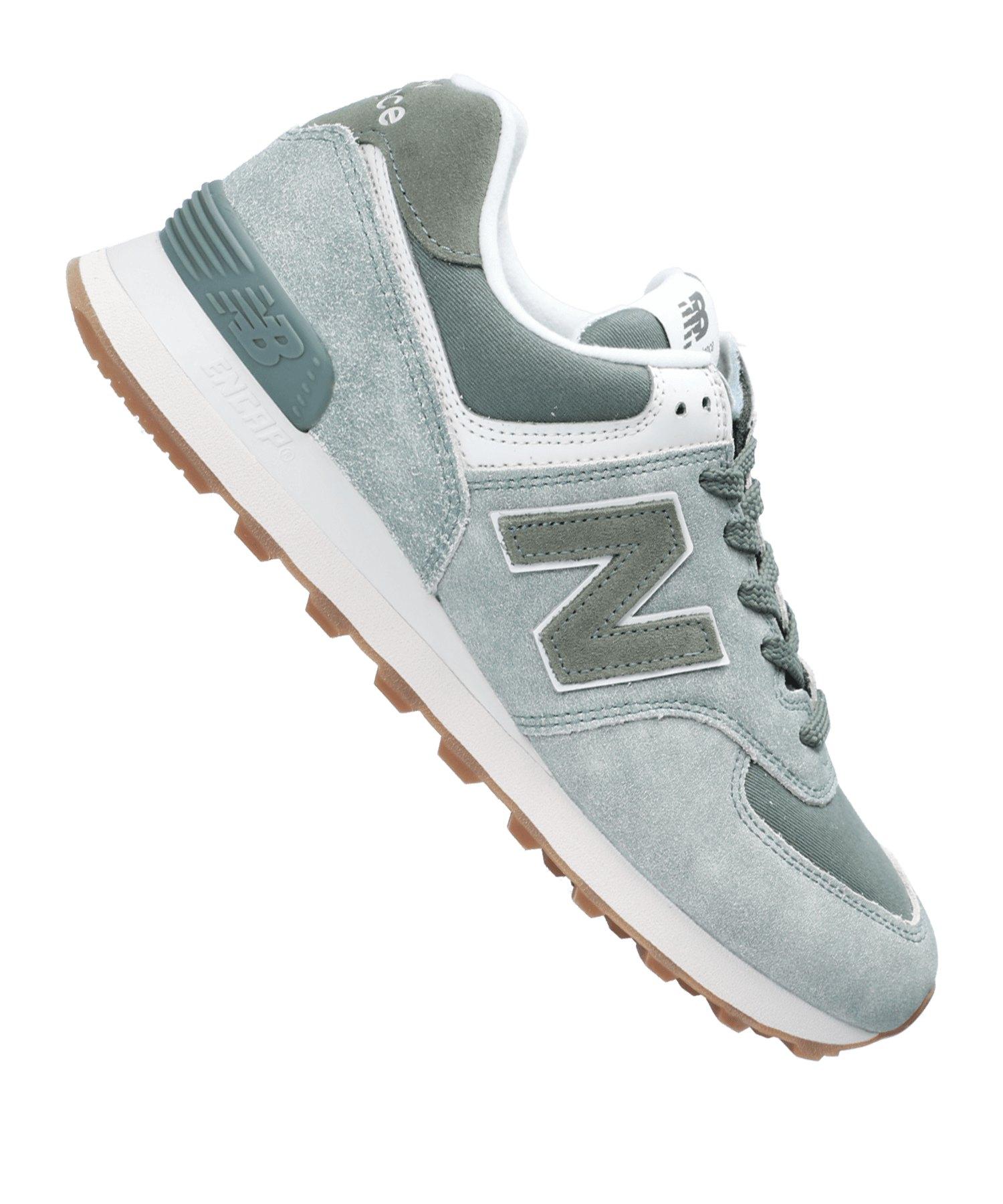 New Balance ML574 Herren Sneaker Grau-Weiß rivetsindia.com