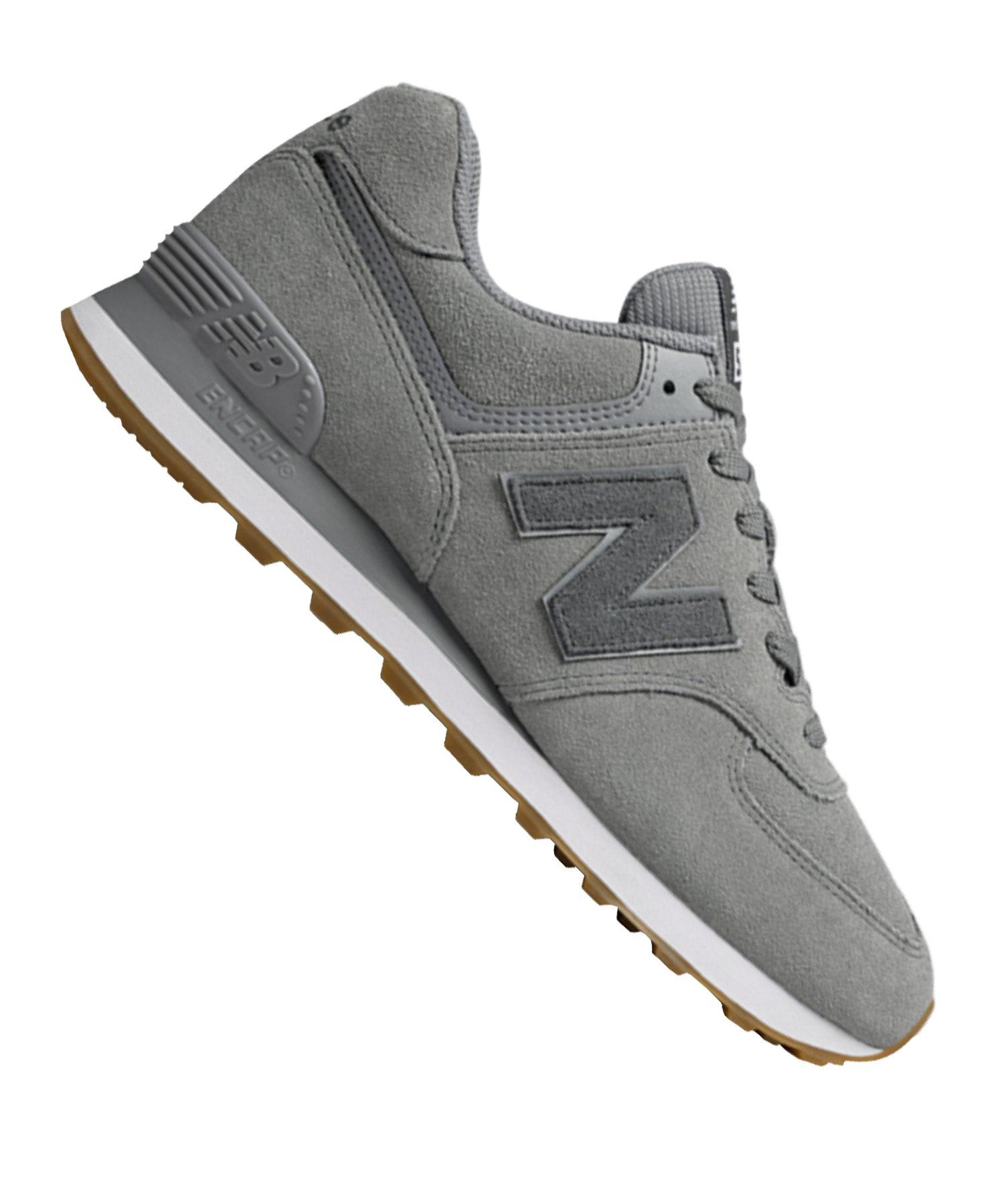 besserer Preis offizieller Verkauf Infos für New Balance ML574 D Sneaker Leder Grau F12