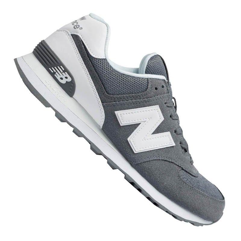 new balance ml574 sneaker suede grau f12 freizeit. Black Bedroom Furniture Sets. Home Design Ideas