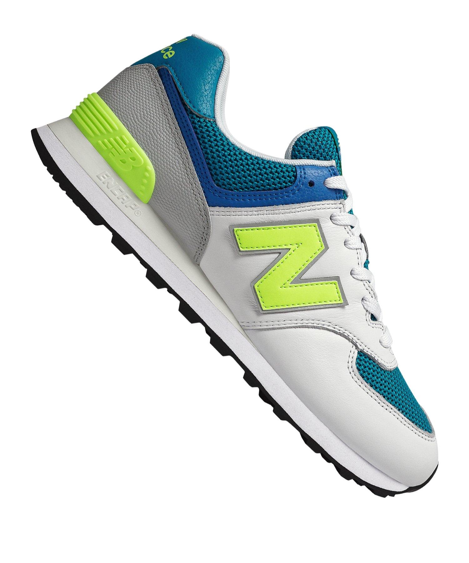 finest selection 32785 44b18 New Balance ML574D Sneaker Weiss F022