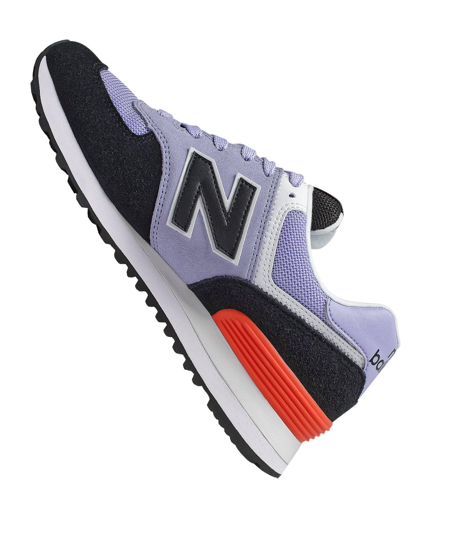 New Balance Sneaker Wl574 F14 B Damen Lila VpqMSUz