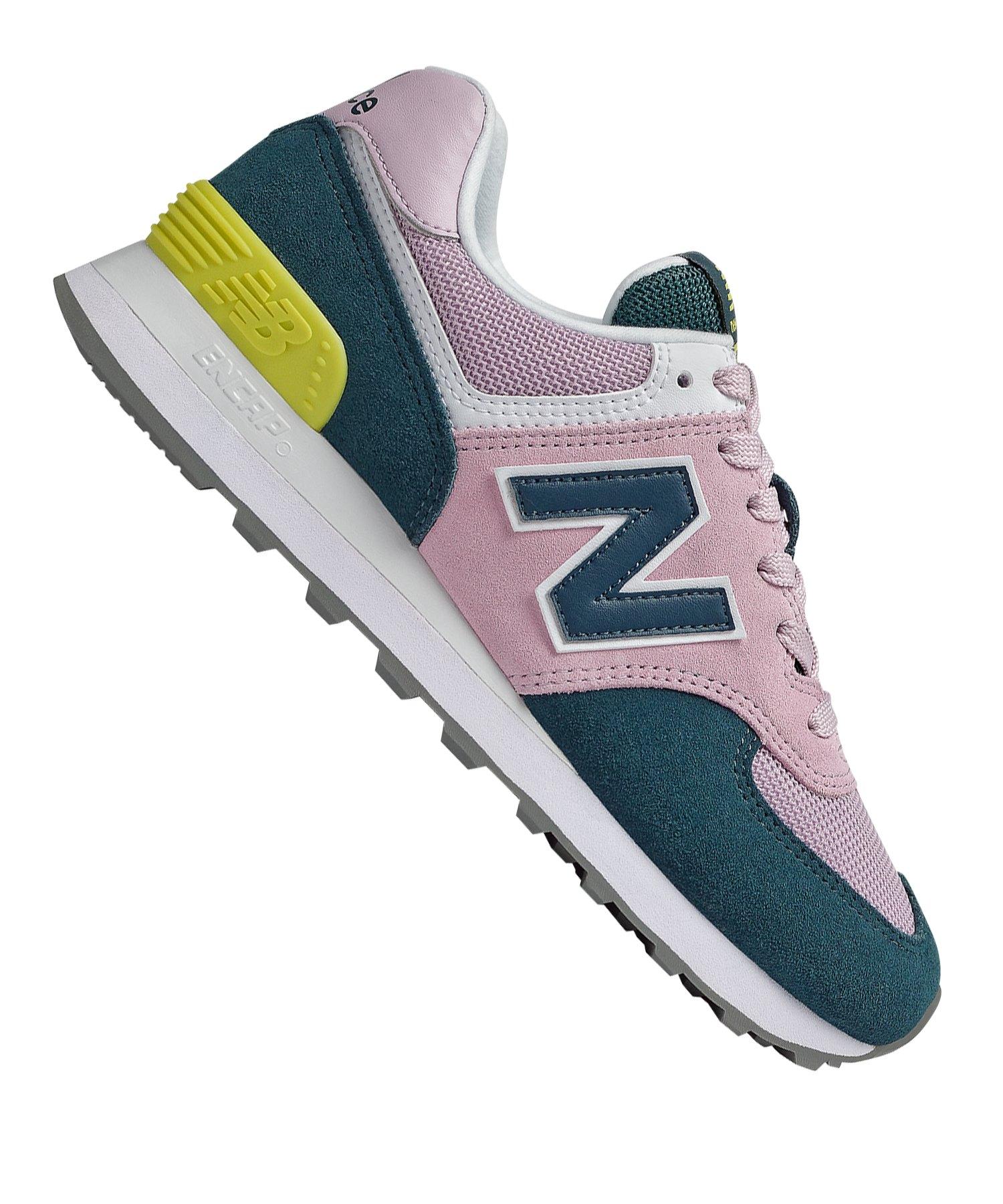 new balance wl574 b sneaker für damen rosa