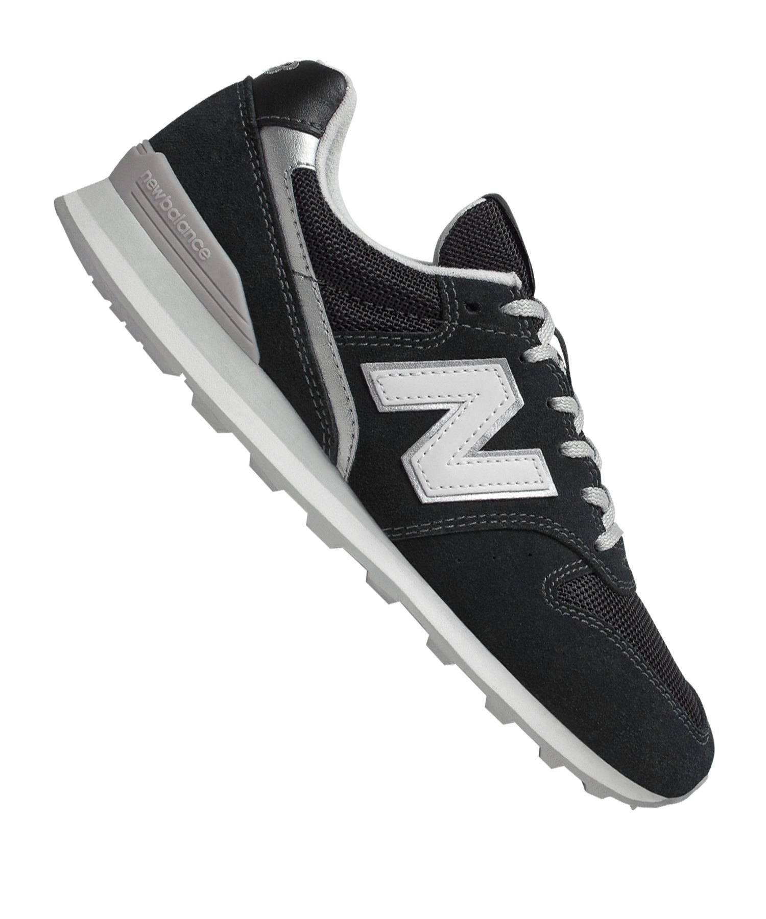 best sneakers 20888 373f1 New Balance WL996 B Sneaker Damen Schwarz F8