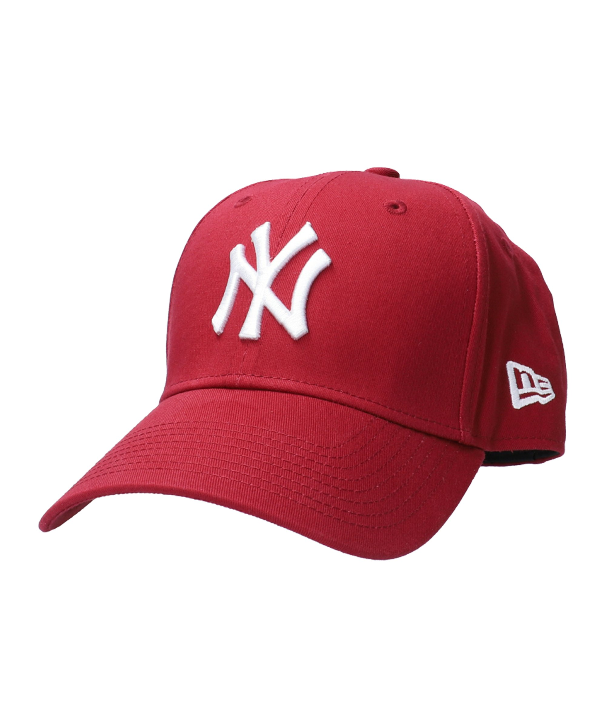 New Era NY Yankees 9Forty Cap Rot Weiss