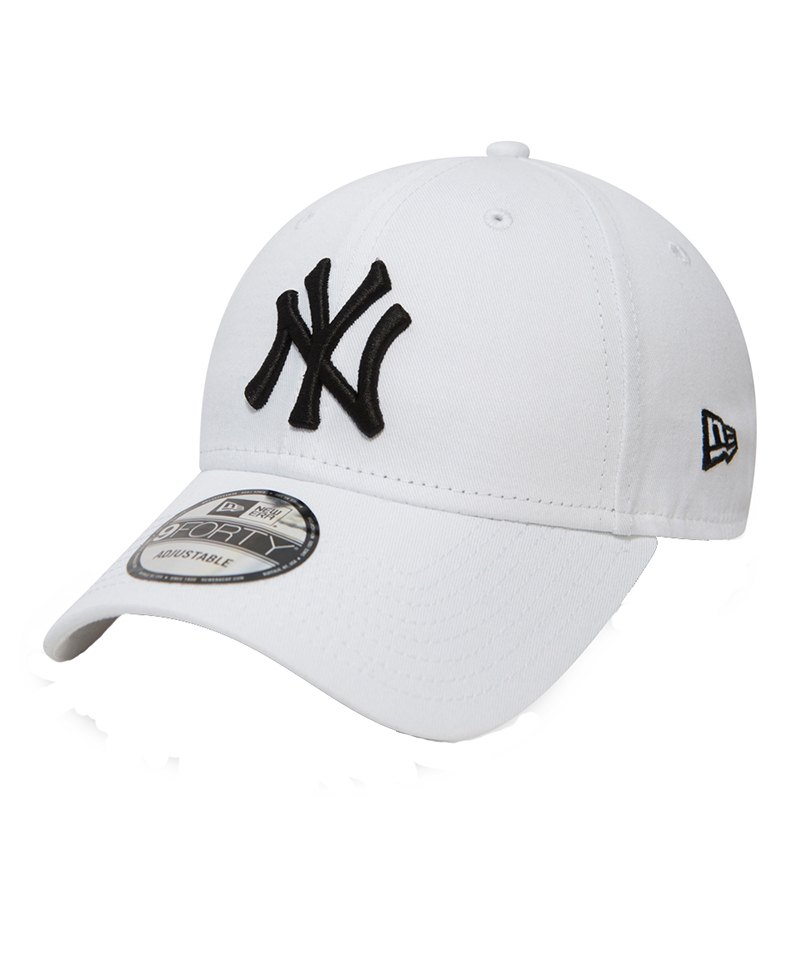 New Era NY Yankees 9Forty Cap Weiss