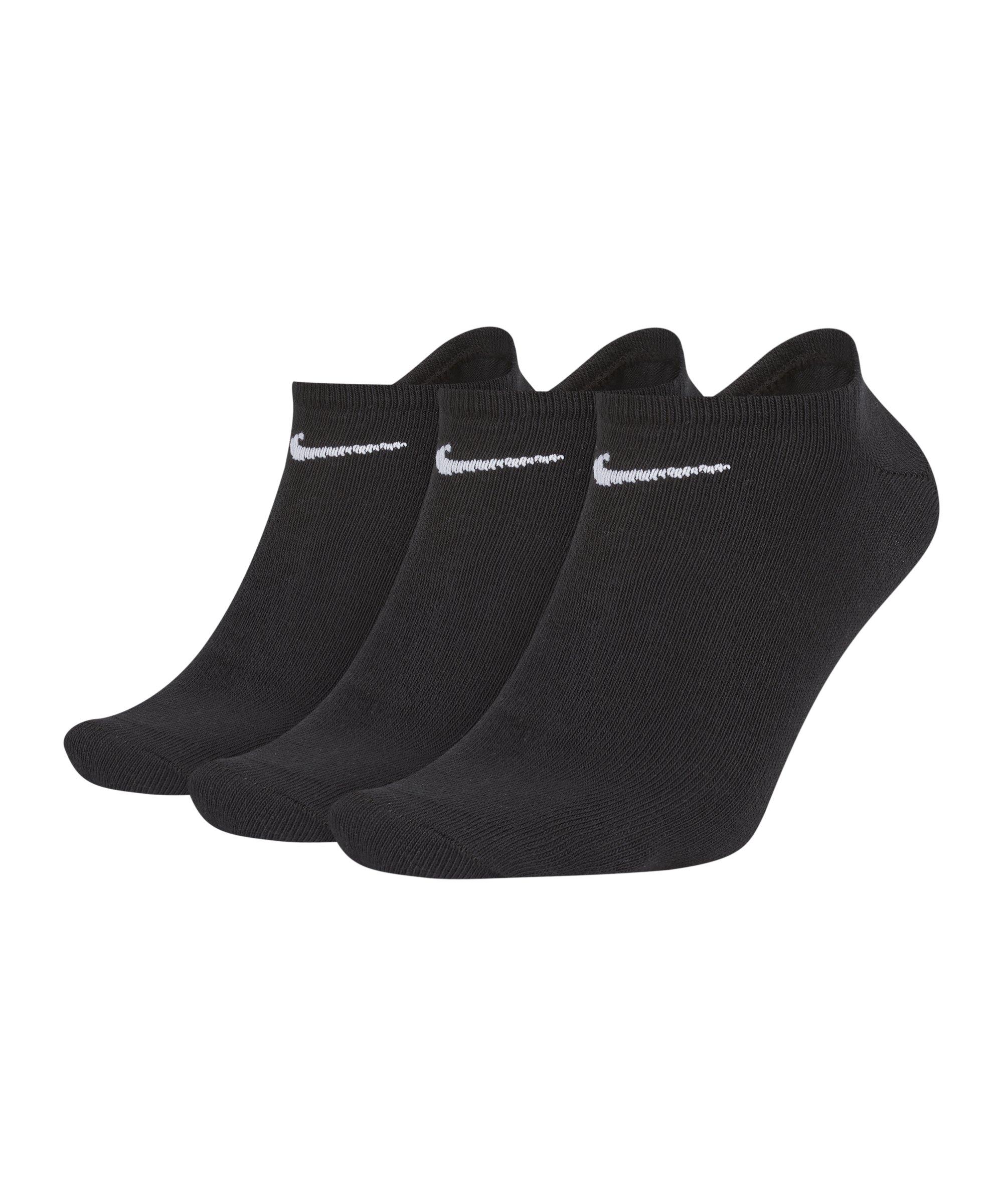 nike 3er pack socken f sslinge sneaker f001 s cklinge. Black Bedroom Furniture Sets. Home Design Ideas
