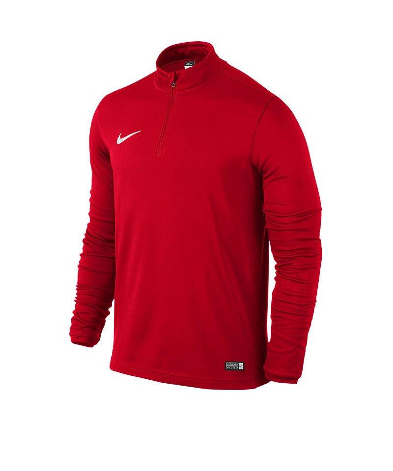 d6c940026bc58 Nike Academy 16 Midlayer Zip Sweatshirt Rot F657 - rot