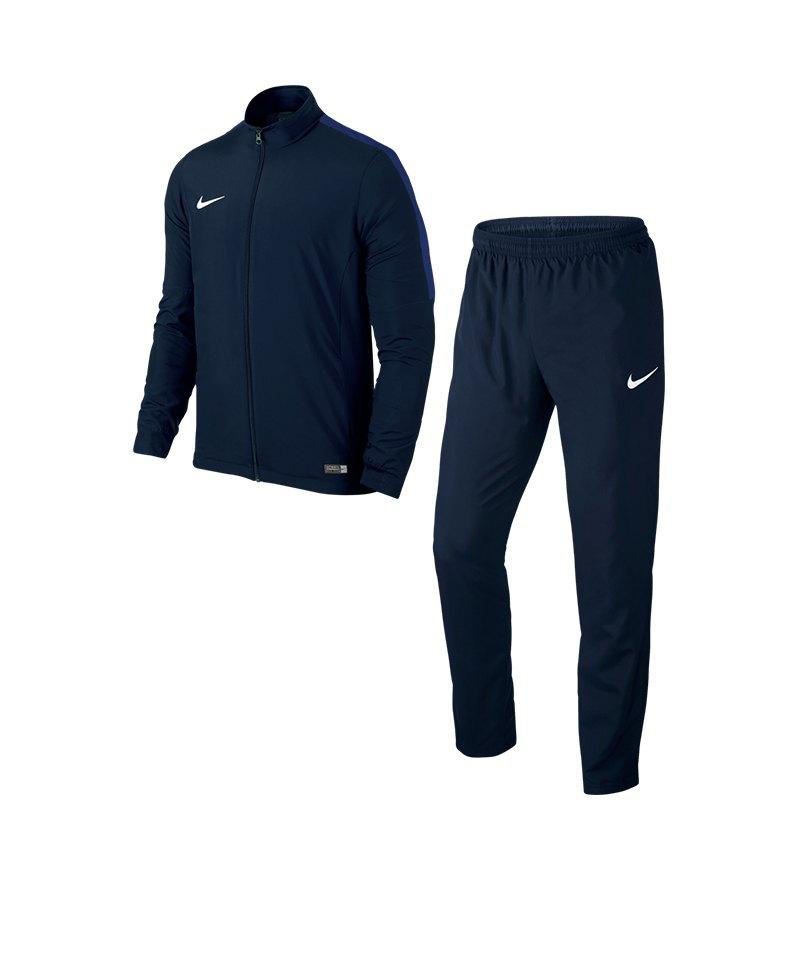 Nike Academy 16 Woven Trainingsanzug 2 Blau F451