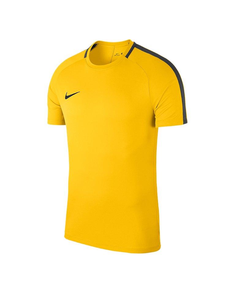 f9331dc3eebf3a Nike Academy 18 Football Top T-Shirt Gelb F719 - gelb