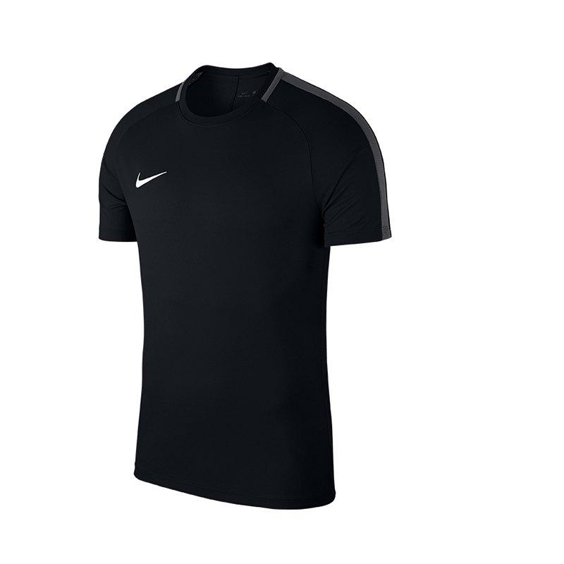 159b85b907d49b ... Nike Academy 18 Football Top T-Shirt Schwarz F010 - schwarz ...
