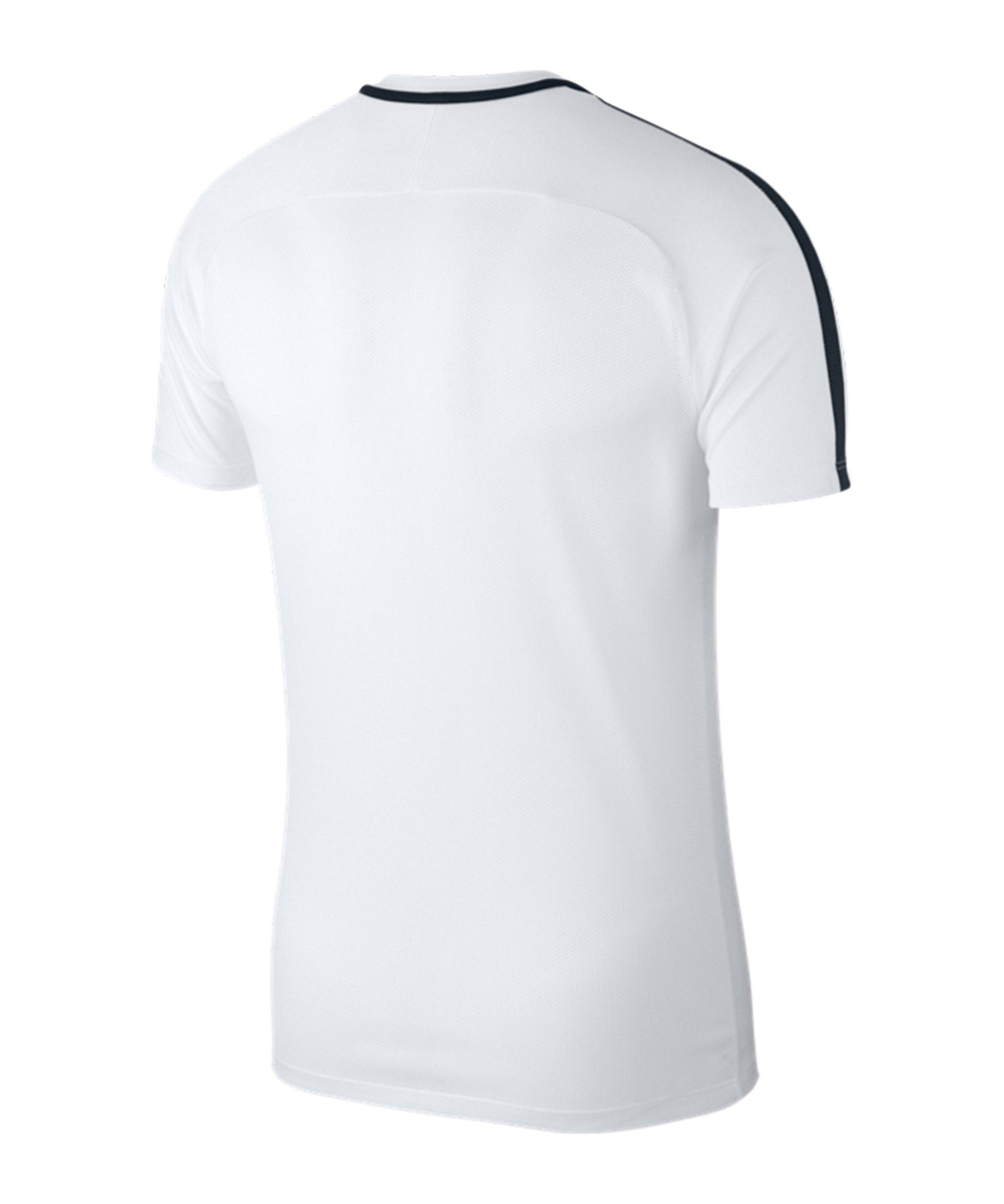 a13fe28185dd79 ... Nike Academy 18 Football Top T-Shirt Weiss F100 - weiss ...
