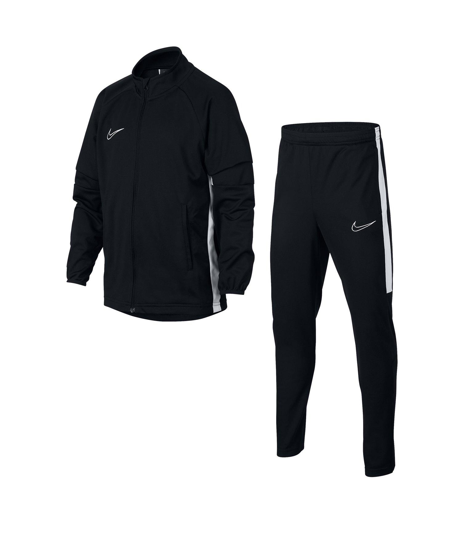 Nike Academy Dri-FIT Track Suit Kids Schwarz F010