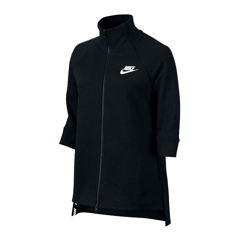 Nike Advance 15 Cape Jacke Damen Schwarz F010
