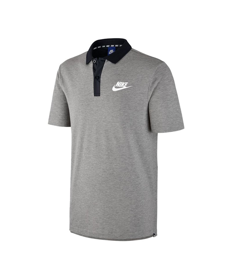 hot sales 96112 74e6b Nike Advance 15 Poloshirt Grau F063 - Grau