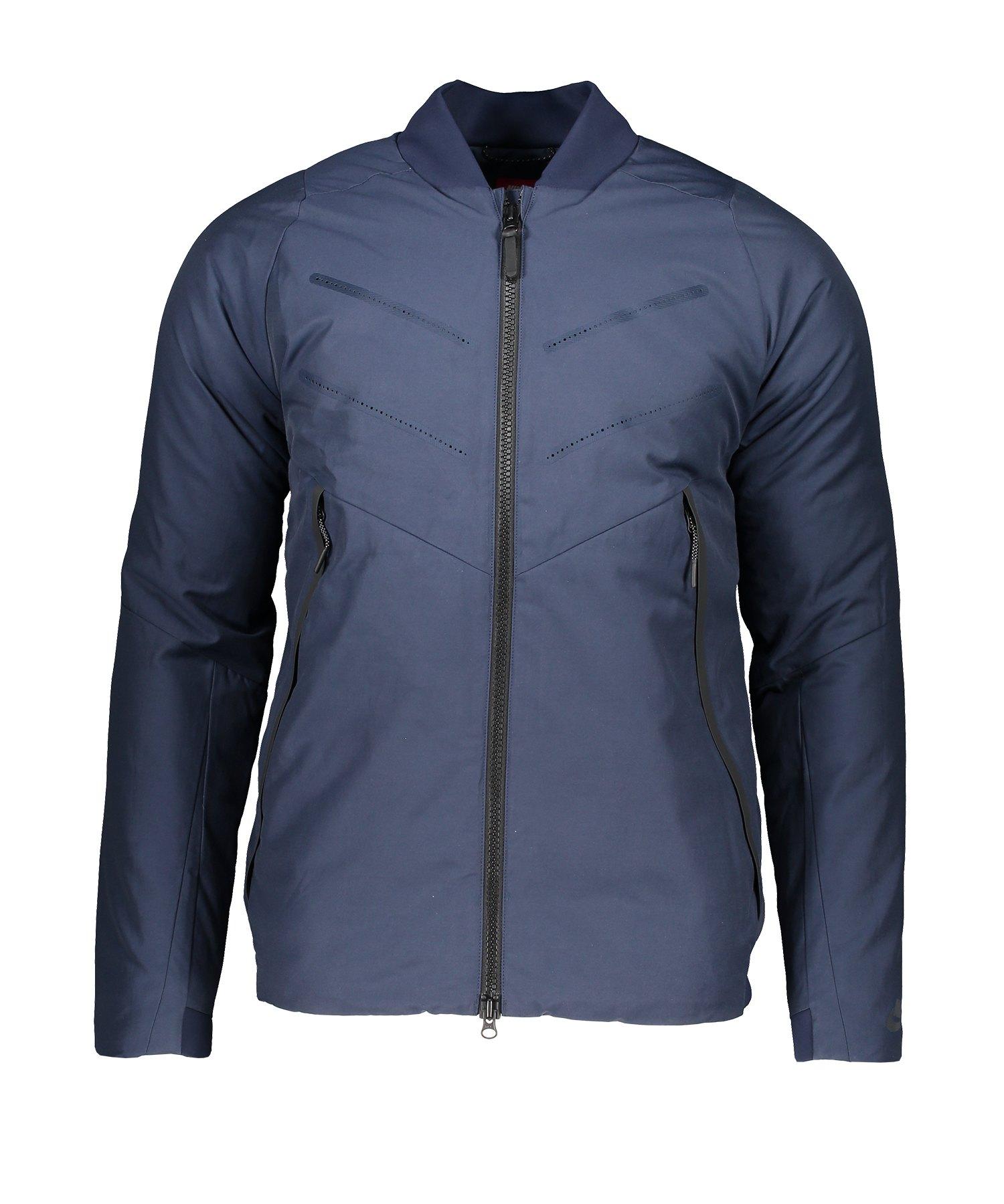 cheap for discount 27300 00772 Nike AeroLoft Bomber Jacket Jacke Blau F451