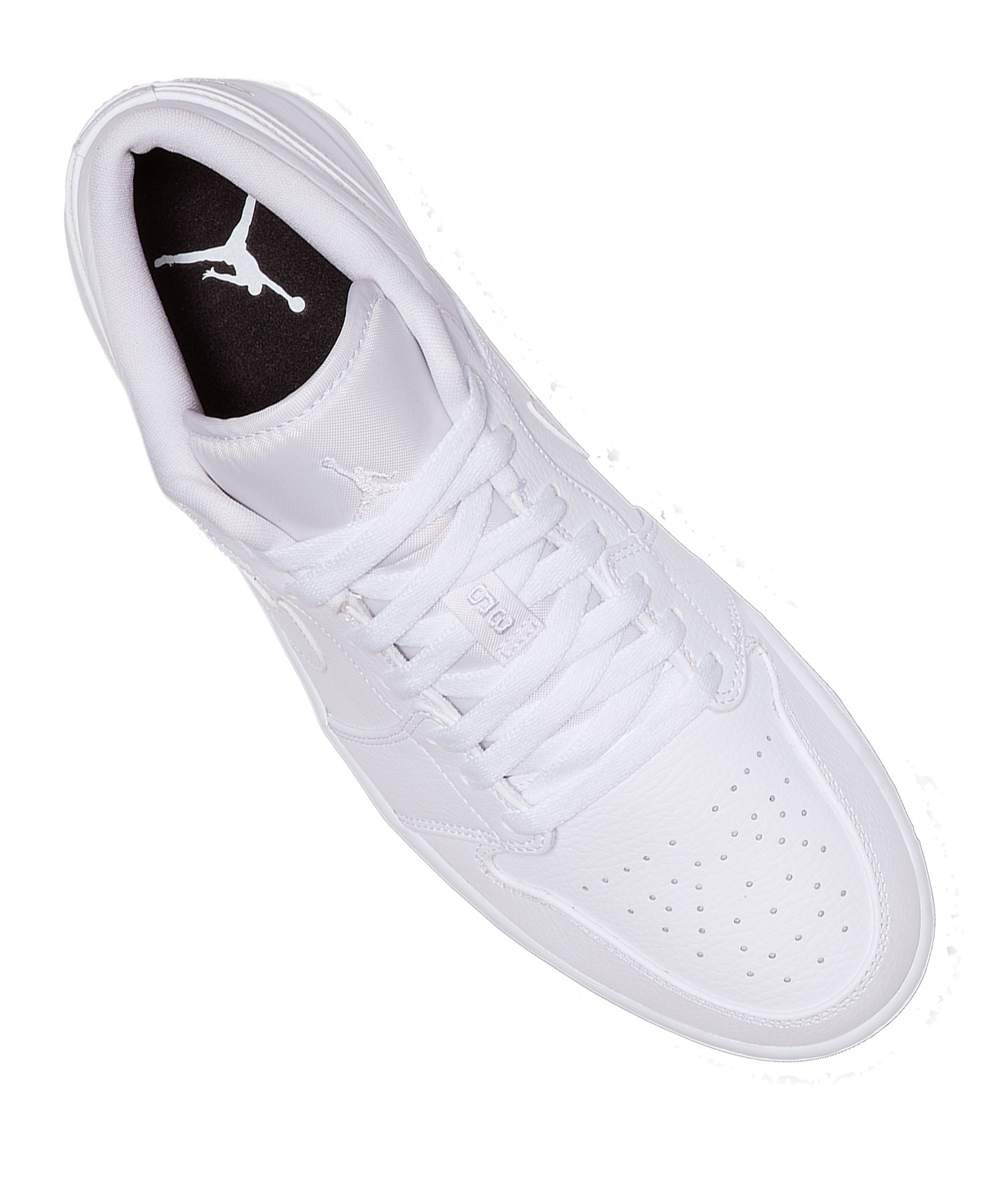 new style a8b6e 16fb9 ... Jordan Air 1 Low Sneaker Weiss F112 - Weiss ...