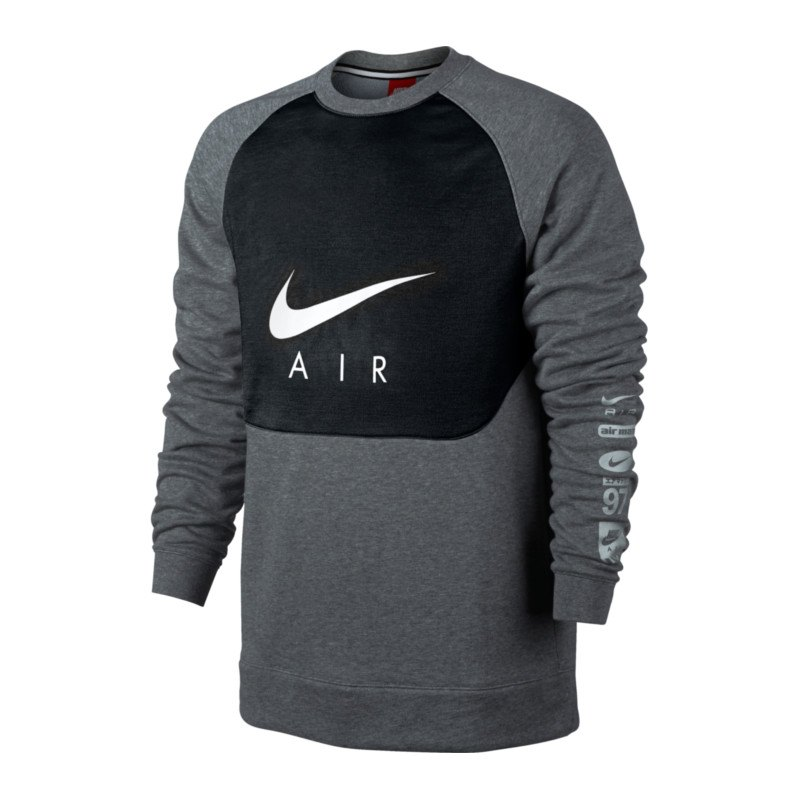 nike air crew sweatshirt sweater herren langarm. Black Bedroom Furniture Sets. Home Design Ideas