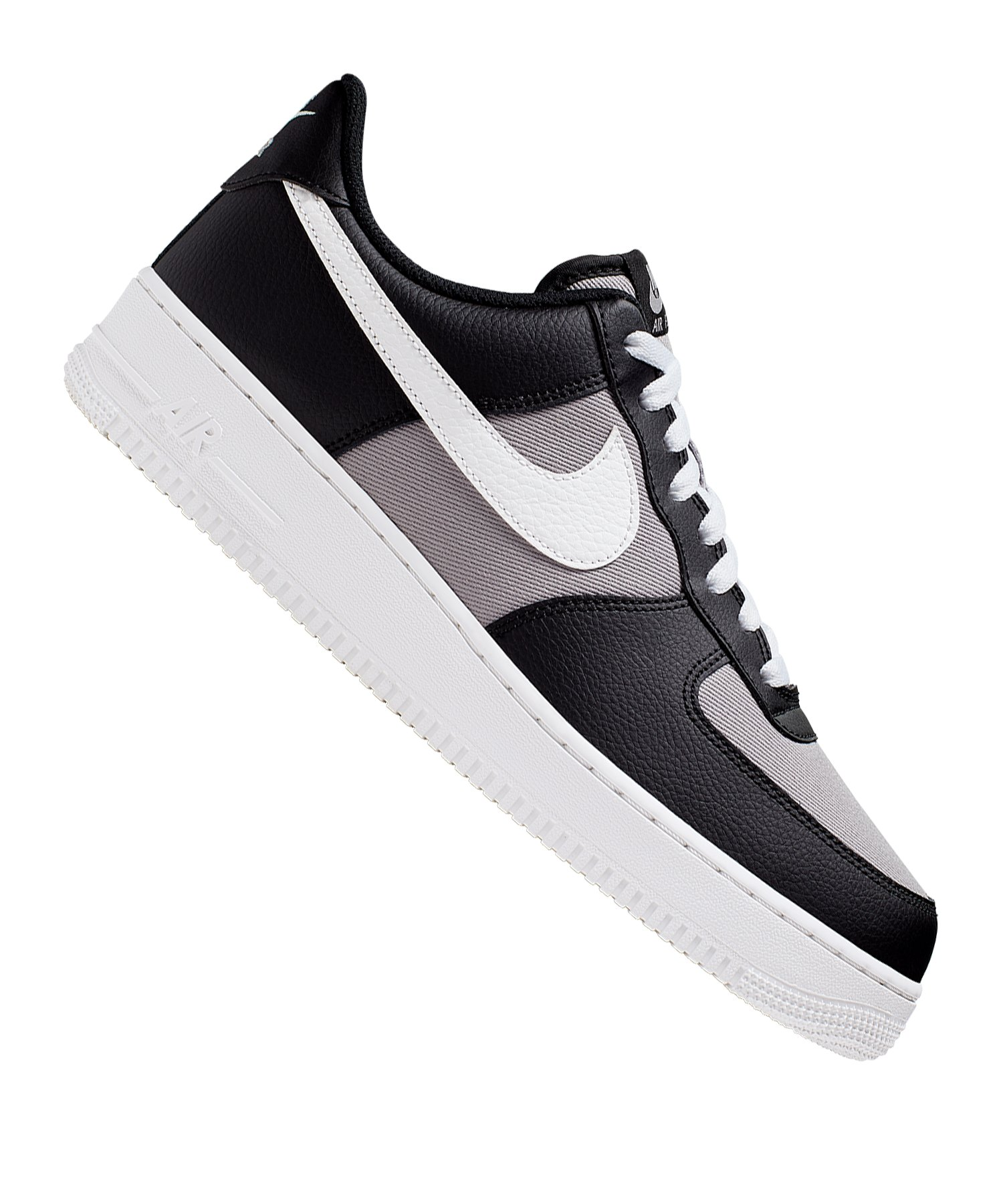 Nike Air Force 1 07 1 Sneaker Schwarz F001 - schwarz
