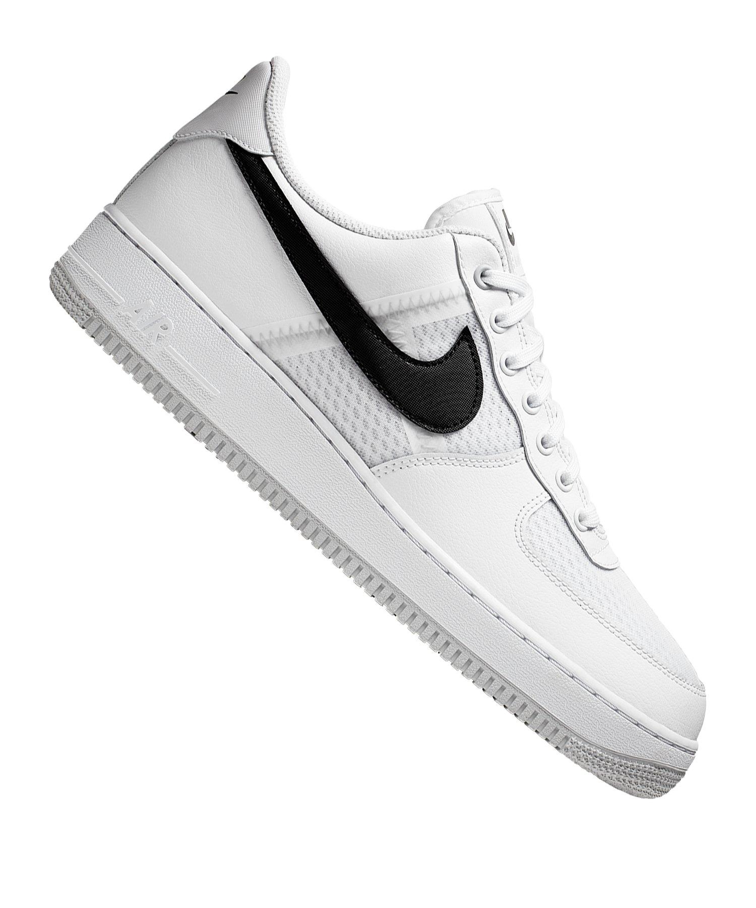 nike air force 1 07 weiß schwarz