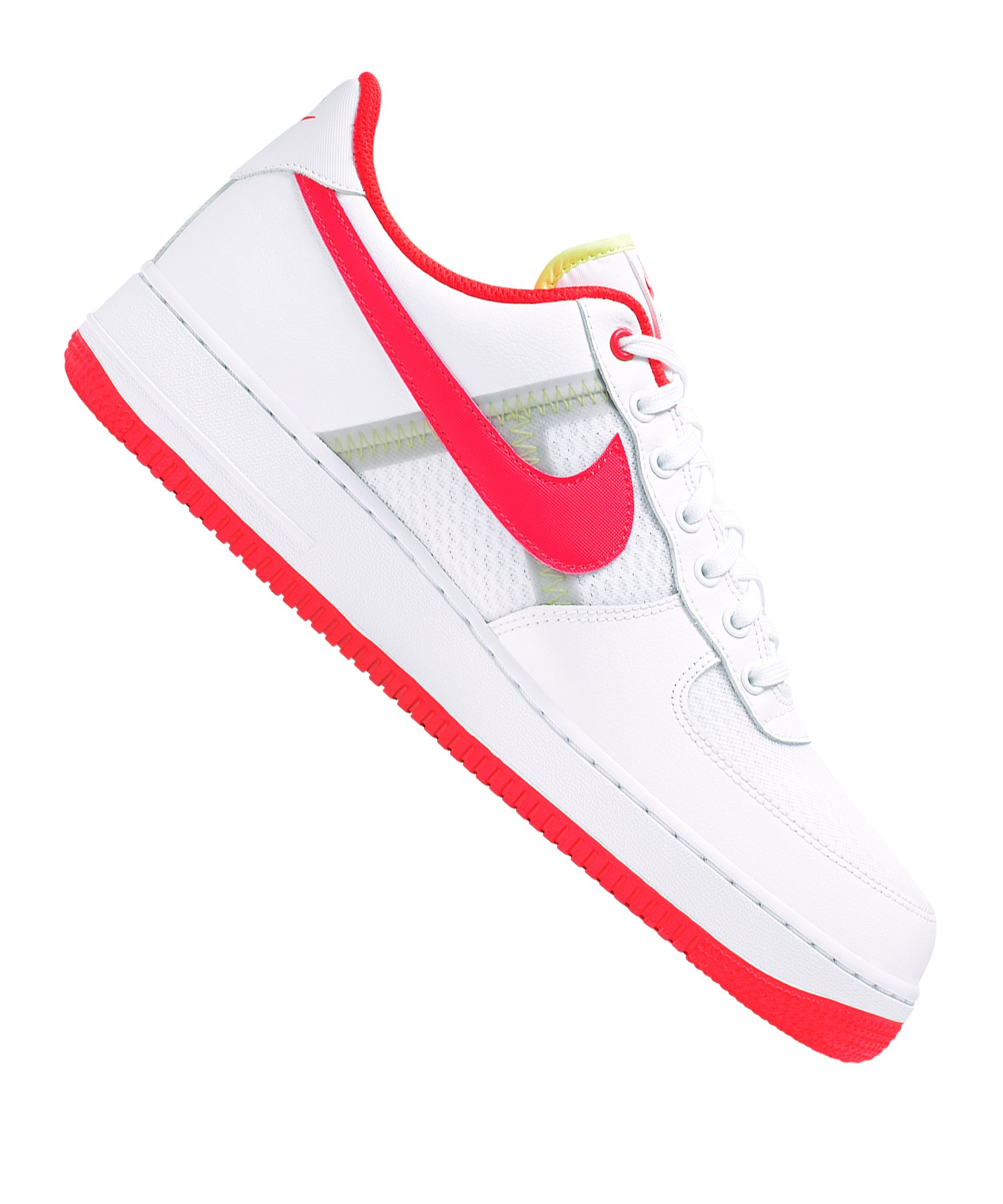 8ca615c8e7 Nike Air Force 1 07 LV8 1 Sneaker Weiss |Streetstyle | Freizeit ...