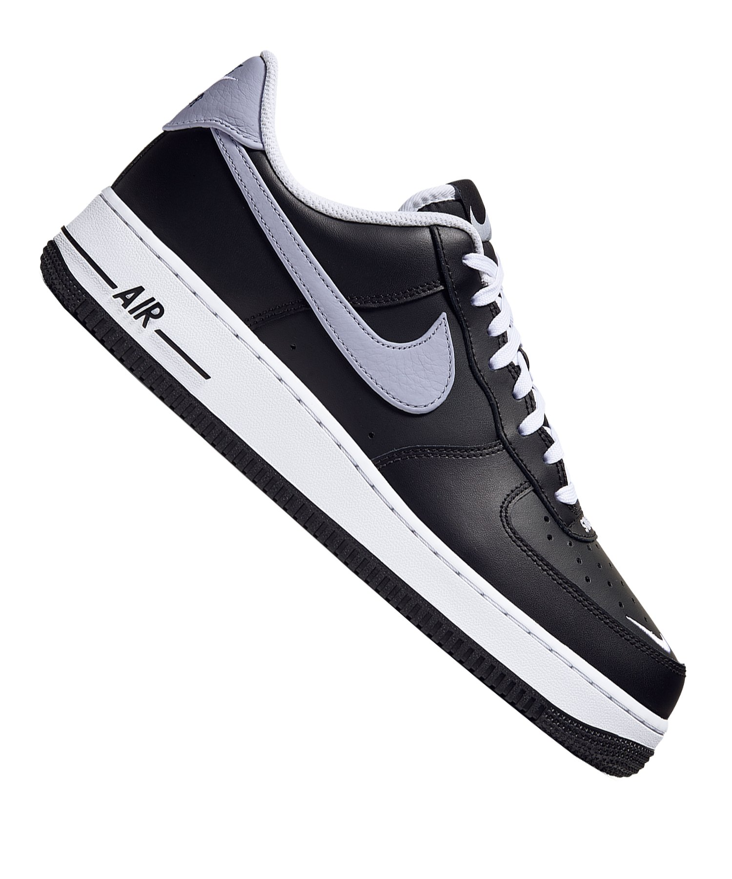 2018 Herren Freizeitschuhe Nike Air Force 1 '07 LV8 Schwarz