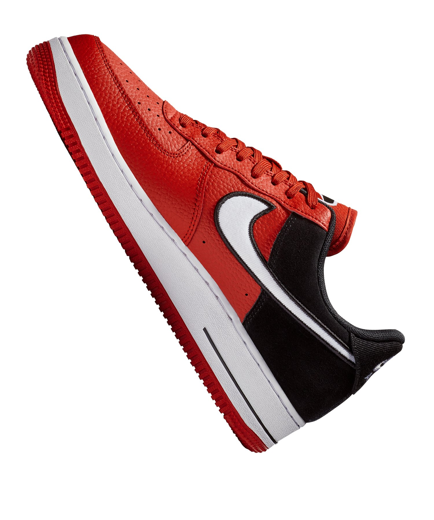 lowest price 1eeb9 22a9c ... Nike Air Force 1  07 LV8 Sneaker Rot F600 - rot ...