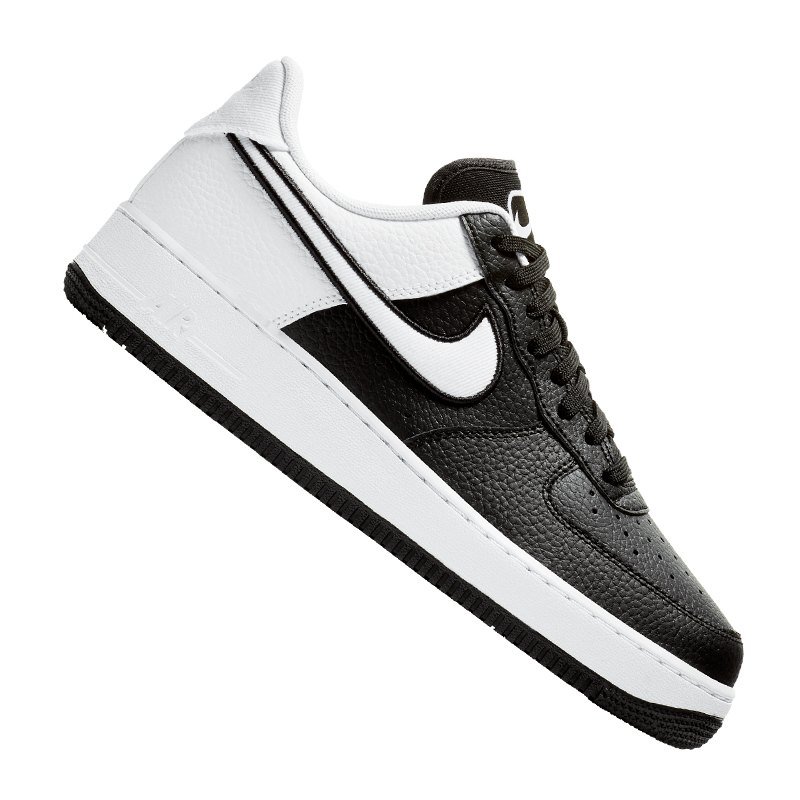 hot sale online 0a14b d03ab Nike Air Force 1  07 LV8 Sneaker Schwarz F001 - schwarz