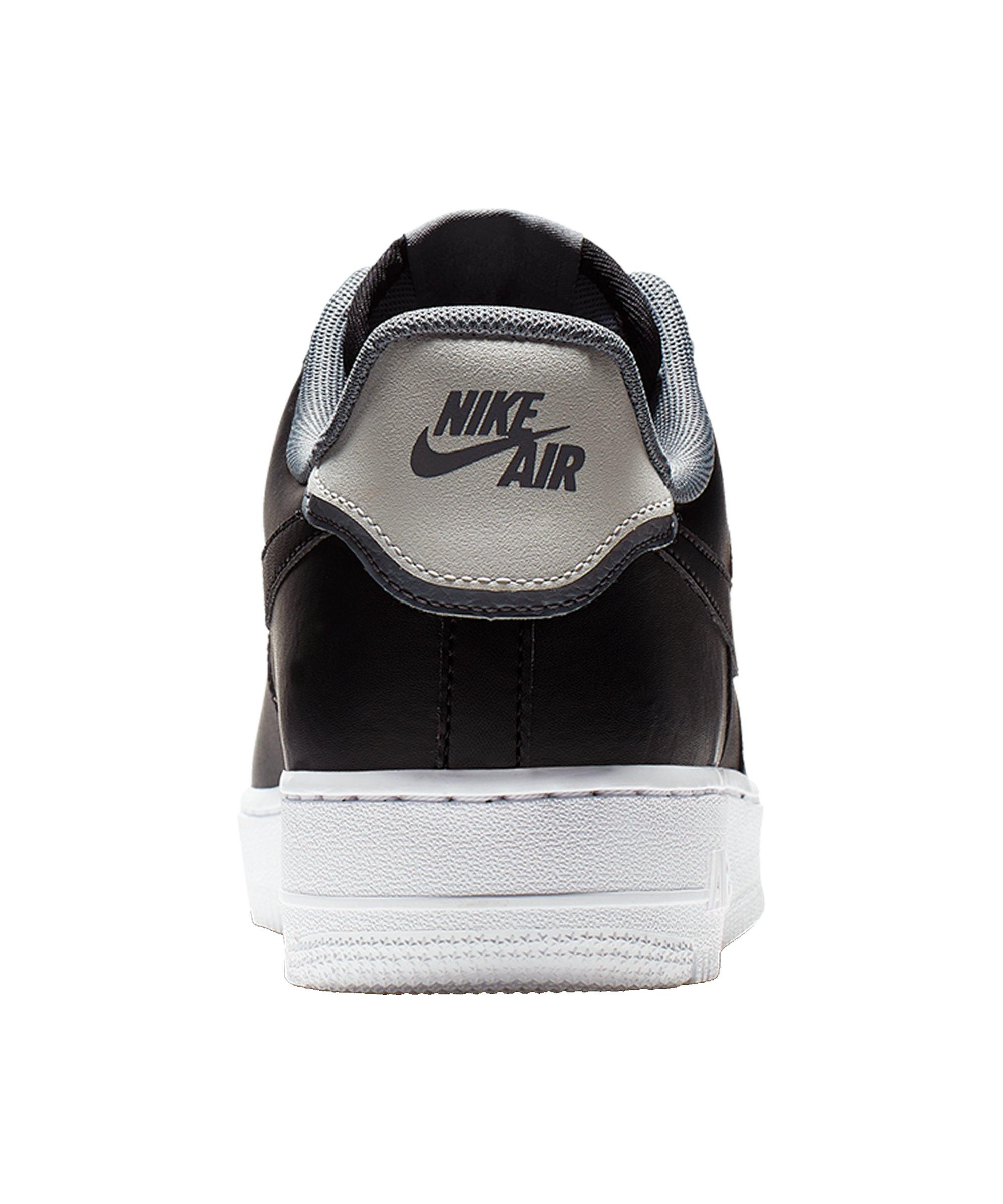 best service d65fd 50546 ... Nike Air Force 1 07 LV8 Sneaker Schwarz Grau F002 - Schwarz ...