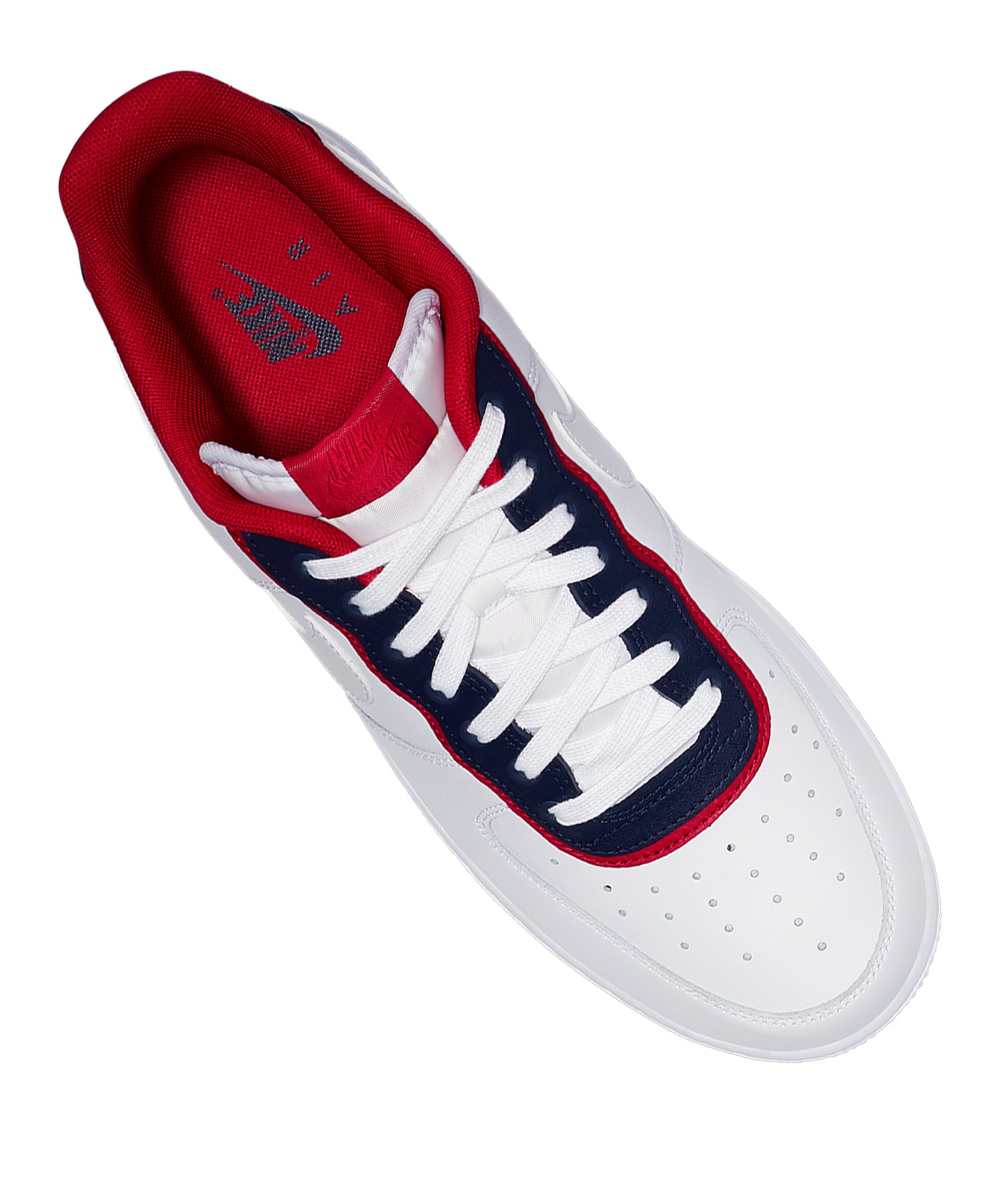 Air Blau 07 F100 1 Sneaker Nike Force Lv8 Weiss D9IE2WYH