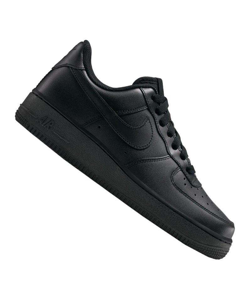 Nike Air Force 1 07 Sneaker Damen Schwarz F038