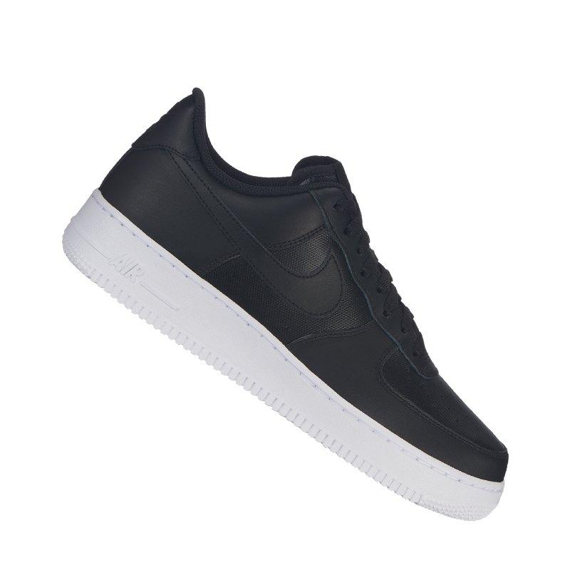Nike Air Force 1 '07 Sneaker Schwarz Weiss F015