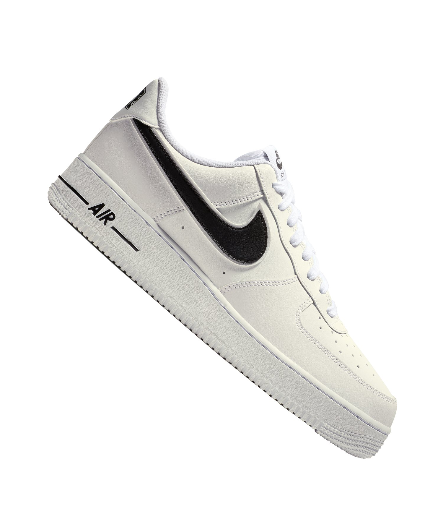 new style cecc3 71be9 ... nike air force 1 07 sneaker weiss schwarz f101 weiss