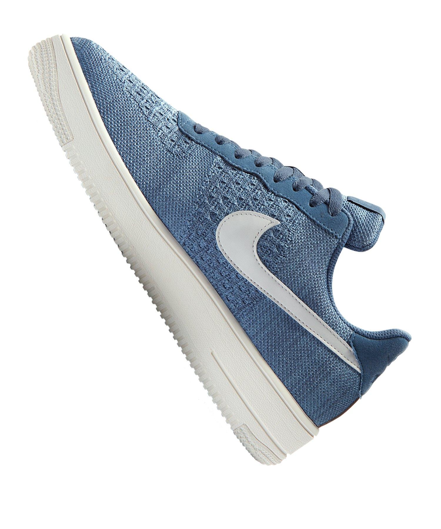 Nike Air Force 1 Flyknit 2.0 Sneaker Blau F400