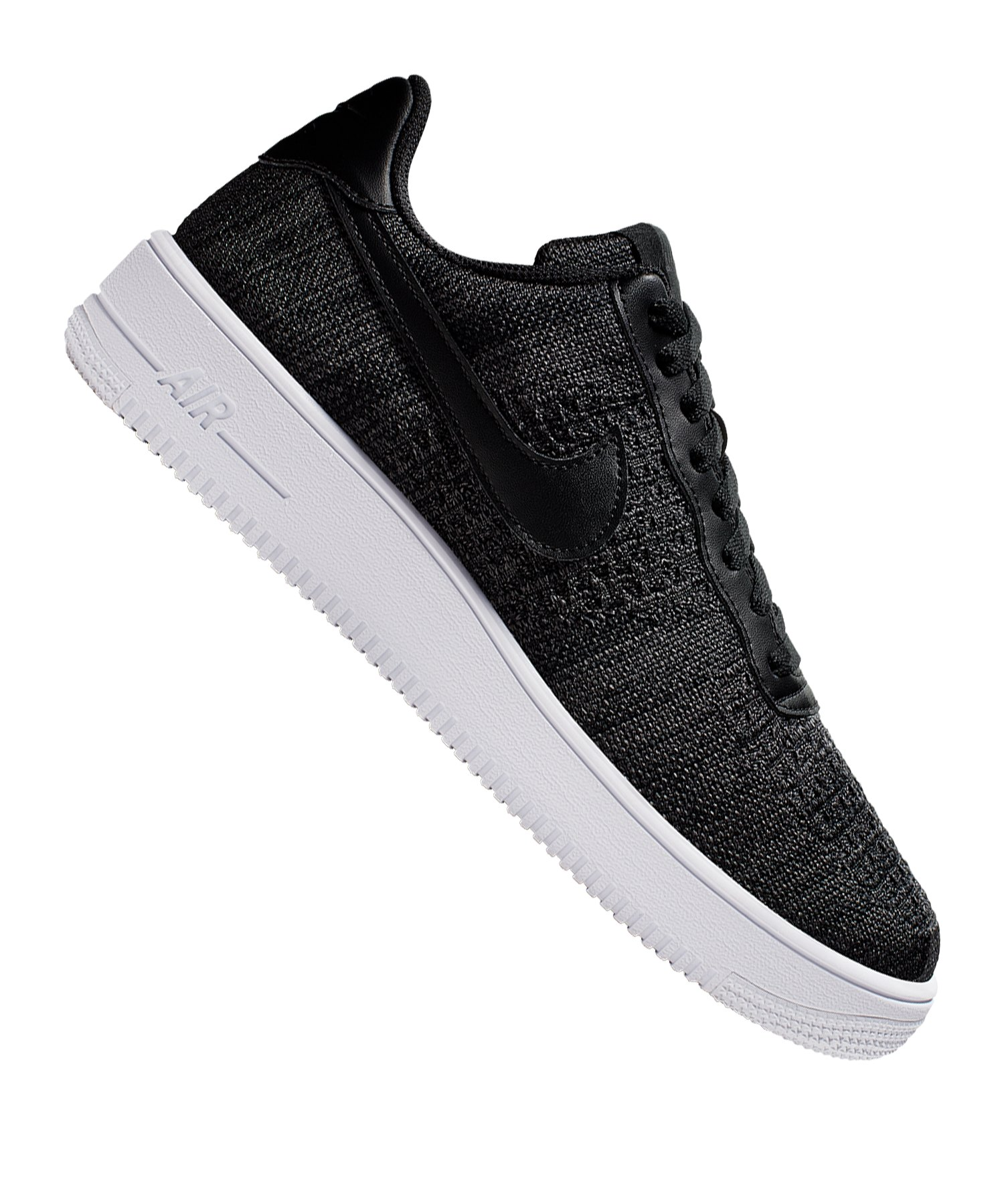 Nike Air Force Flyknit schwarz