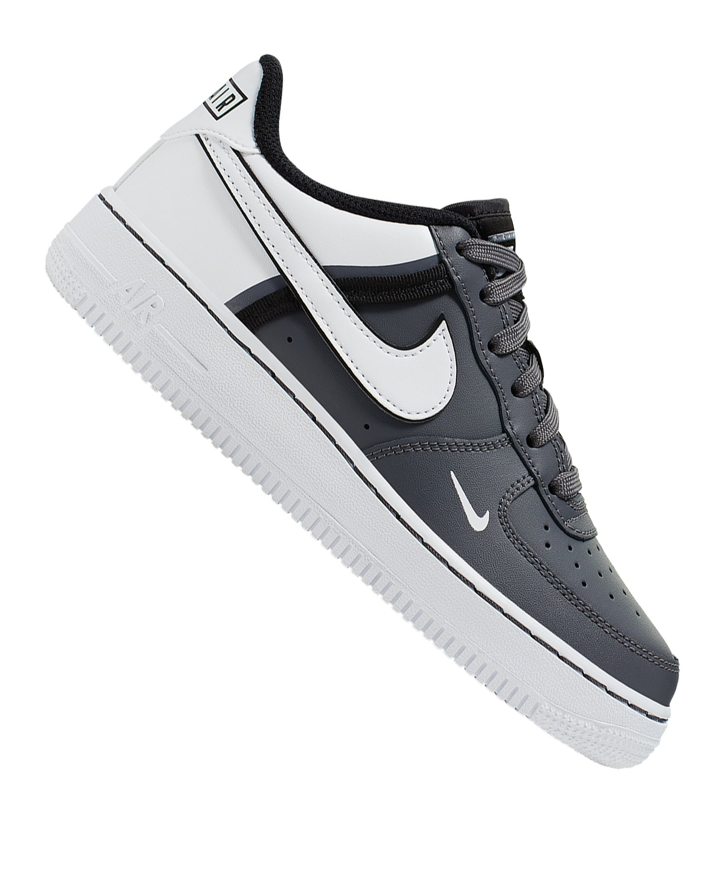 Nike Air Force 1 LV8 2 Sneaker Kids Schwarz F002