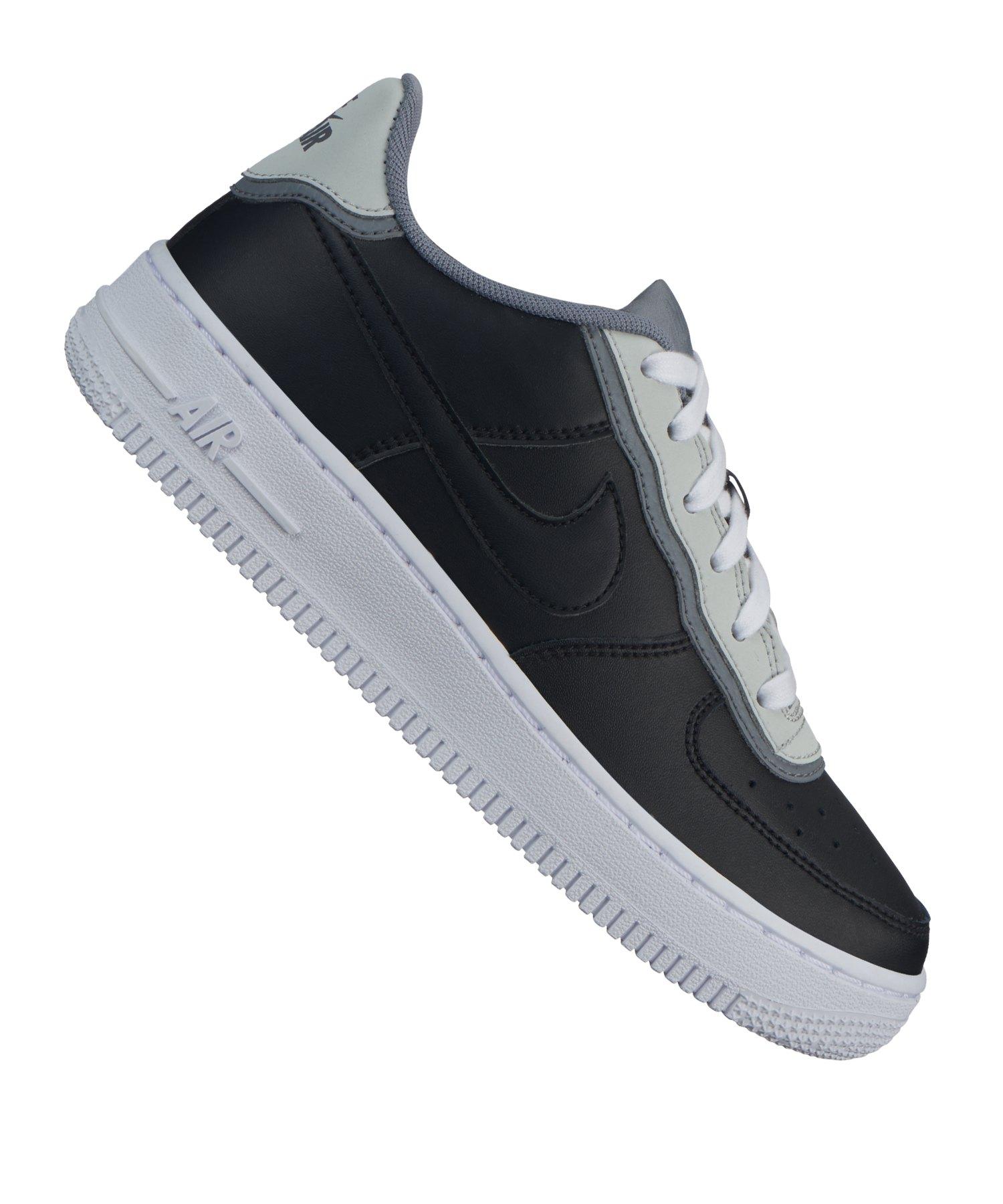 Nike Air Force Kinder schwarz weis 36,5