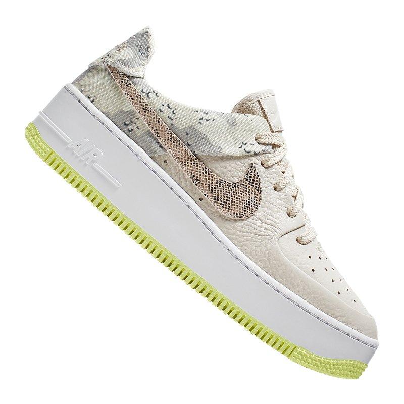 Nike Air Force 1 Sage Low Sneaker Damen Beige F101
