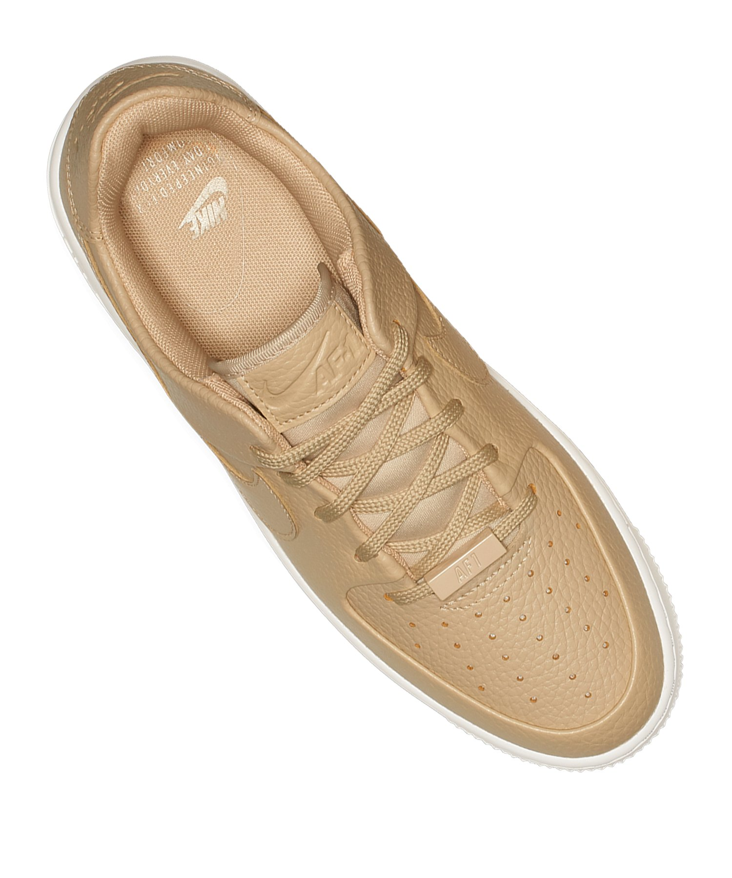 Beige Air F202 Sneaker 1 Force Damen Sage Low Nike dBWoeCrx