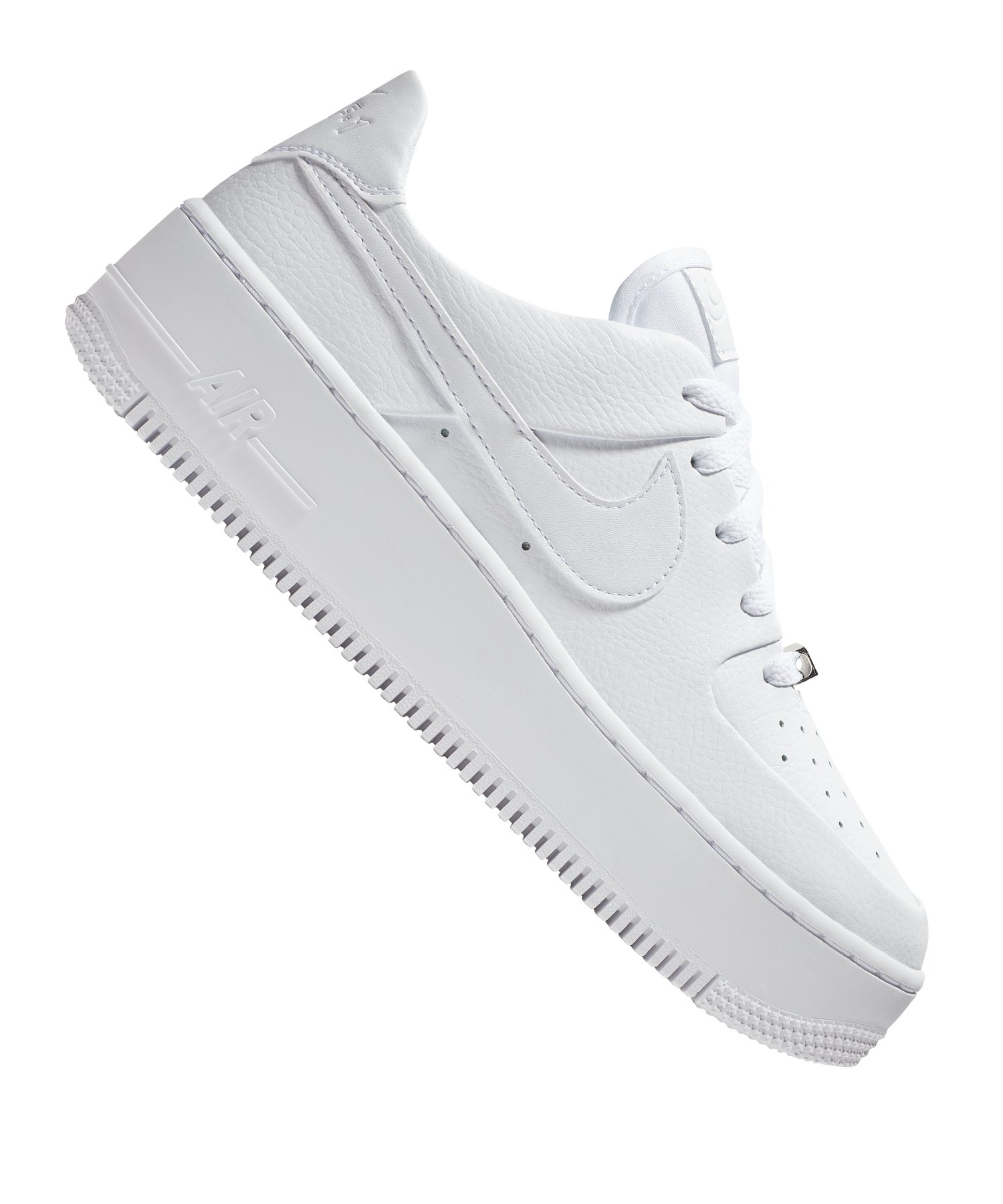 brand new 19acb 0ed21 Nike Air Force 1 Sage Low Sneaker Damen F100 - weiss