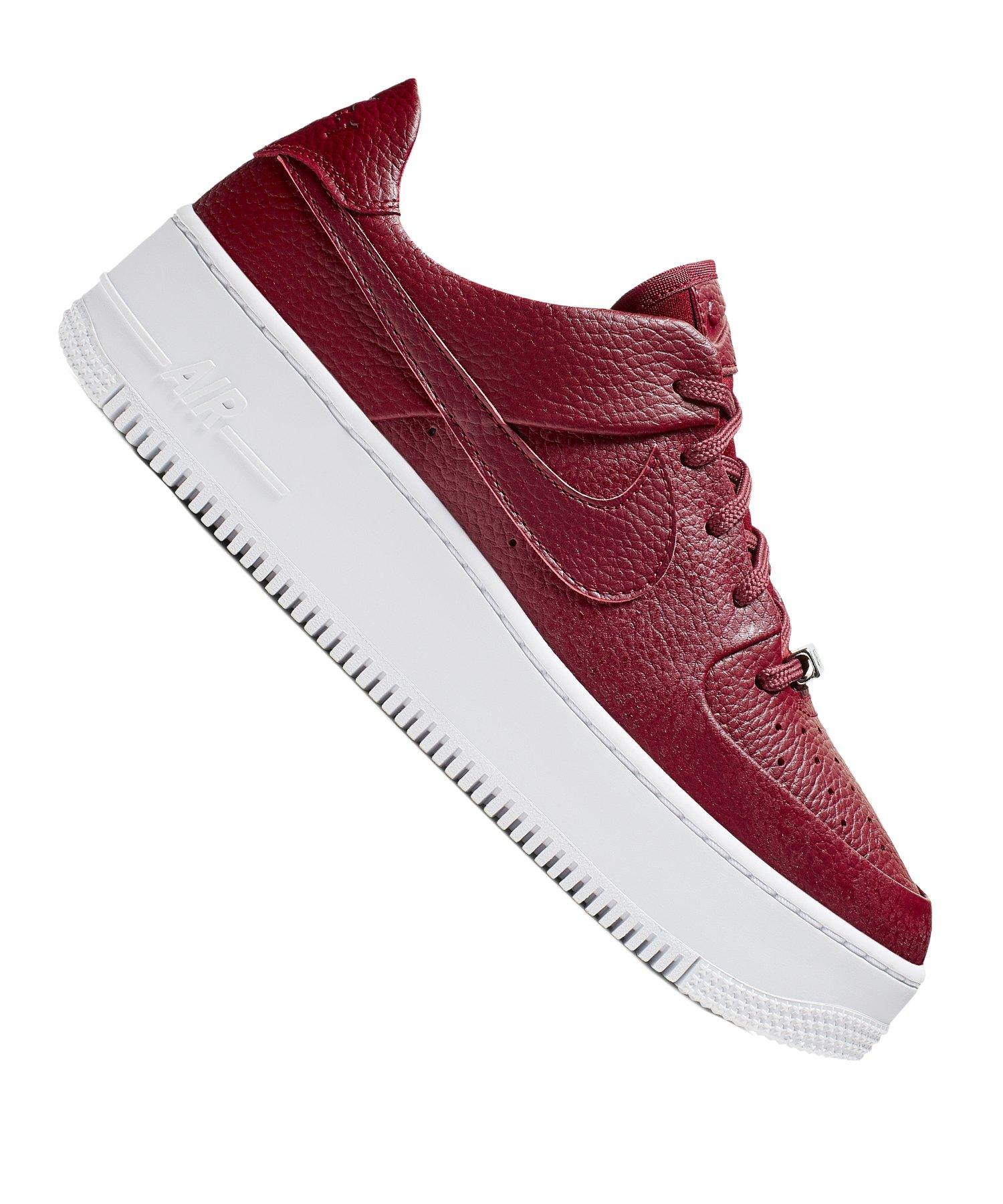 Nike Air Force Frauen rot