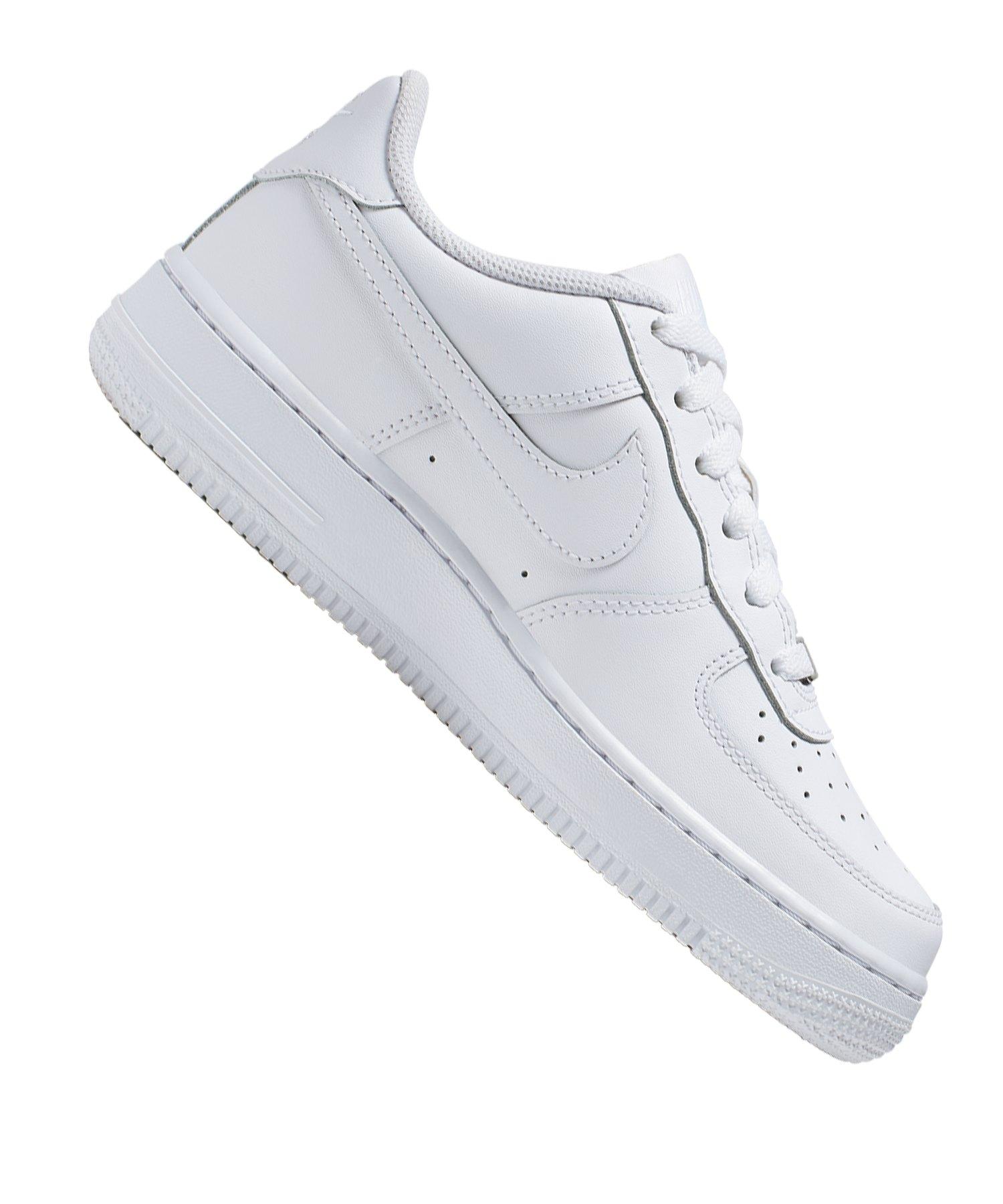 Nike Air Force 1 Sneaker Kids Weiss F117 | Freizeit | Lifestyle ...