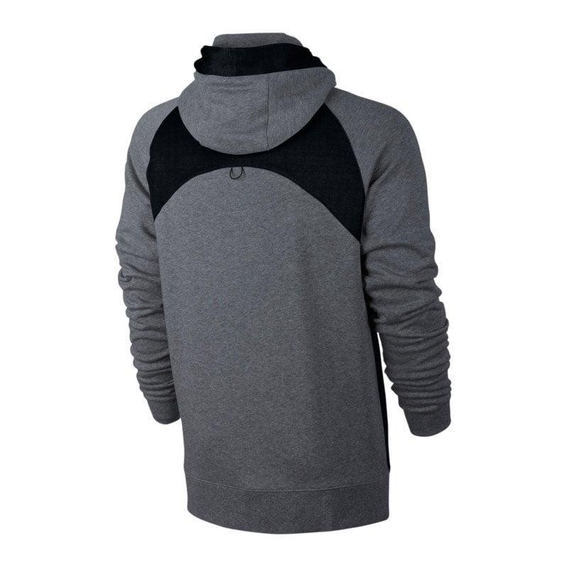 nike air fz hoody jacke grau f091 sweatshirt. Black Bedroom Furniture Sets. Home Design Ideas