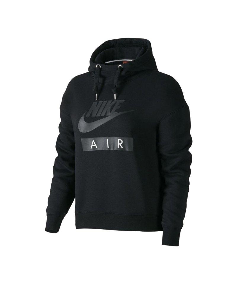 Nike Air Hoody Damen Schwarz F010