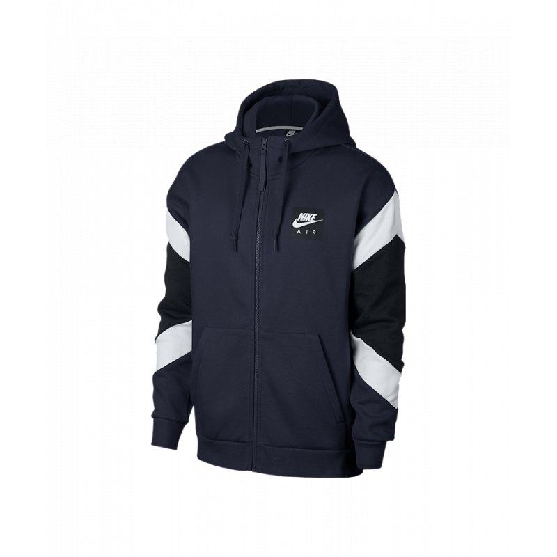 new product 6b929 c8166 Nike Air Hoody Kapuzenjacke Blau F452 - blau