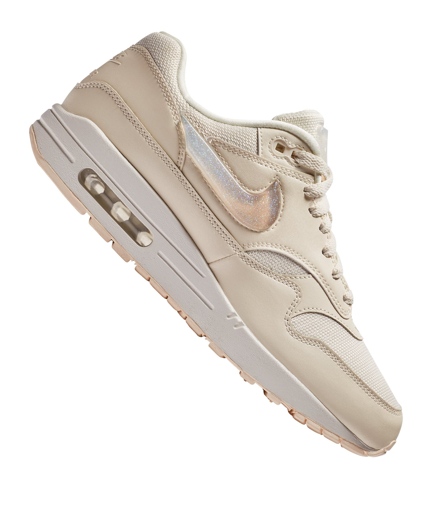 sports shoes 40195 04833 Nike Air Max 1 JP Sneaker Damen Beige F100