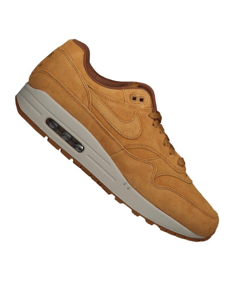 new product a5f97 8bc40 Nike Air Max 1 Premium SE Sneaker Braun F701 |Streetstyle | Freizeit ...