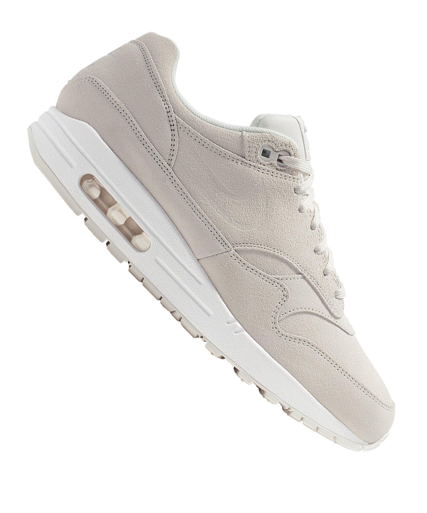 purchase cheap 62392 ed97d Nike Air Max 1 Premium Sneaker Damen Weiss F111 |Lifestyle ...